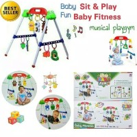 Baby Playgym baby play gym mainan musical musik bayi balita