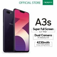 OPPO A3s Smartphone 2Gb/16Gb Garansi Resmi Nasional