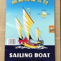 KERTAS karbon carbon paper sailing boat satu sisi single side