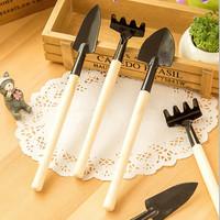 3 pcs Mini Sekop Garden Tools Alat Berkebun Taman Pasir Bunga Tanaman
