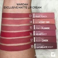 TERMURAH Lip Cream Wardah Exclusive Matte BARU Lipstik Lipstick