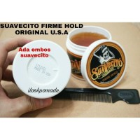 Pomade Suavecito Firme Hold 4Oz Free Sisir