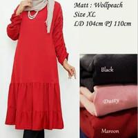 Baju Atasan Wanita Nilam Tunik Blouse Baju Muslim Blus Muslim