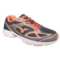 titien ahmat shop Calci Sepatu Lari (Running) Dallas W - Grey Orange