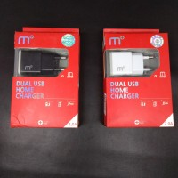 Charger Casan M Plus 2A Dual Usb Original 100%