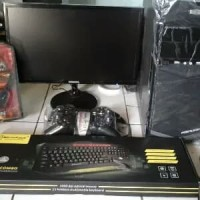 Satu Set PC Office Sekolah Intel G630 Ram 4GB Monitor 19 inch