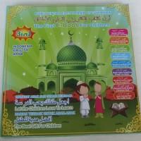 Buku Pintar Anak Muslim 3 Bahasa Mainan Edukasi