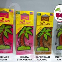 Cherry Shop _ Parfum Mobil California Scents Palm Trees Paper Made USA