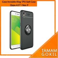 Oppo A37 / Neo 9 Case Autofocus Invisible Iring TPU Soft Case - Hitam