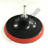 Perekat Amplas 5 INCH MESIN BOR - Tatakan Velcro Adaptor Konektor Pad