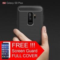 Casing hp Samsung Galaxy S9 - S9 Plus Spigen FIBER LINE TPU Carbon