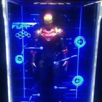 hall of armor iron man 1/12 marvel legends mafex shf revoltech