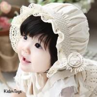 Topi Bayi Perempuan Imut Cantik / Baby Girls Hats Bonnet Sun cap