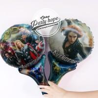 balon pentung avenger / balon stick foil avenger / balon souvenir