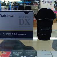 LENSA TOKINA AF 11-16mm F2.8 DX FOR CANON SLR