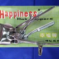 Happiness Hair Clipper Gunting Rambut Manual