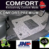 Karpet Mobil COMFORT Toyota Calya / Sigra 3baris Premium Heelpad