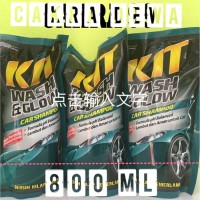 Shampoo Body Motor dan mobil KIT Wash and Glow Car Shampoo Refil 800ml
