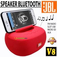SPEAKER JBL V8 SUPER BASS WIRELESS SPEAKER
