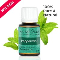Peppermint Essential Oil ( Minyak Peppermint ) 10 ml | 100 % Pure