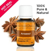 Aniseed Essential Oil | Minyak Anise 10 ml ( 100 % Pure & Natural )