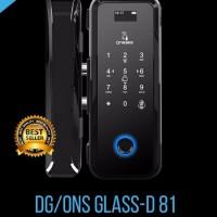 Kunci Pintu Digital Onassis DG/ONS GLASS-81 Digital Lock Onassis D81