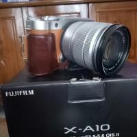 Fujifilm XA10 Kit 16-50 MM Brown