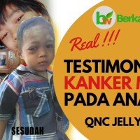 Obat Kanker Mata Herbal Pada Anak Walatra QnC Jelly Gamat BPOM & MUI