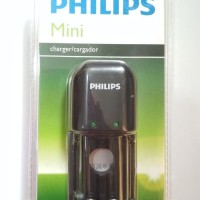 Philips Mini Charger For AA & AAA NiMH Black