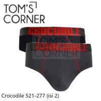 Celana dalam pria Crocodile 521-277   Cd pria pakaian dalam isi 2 - Mix, S