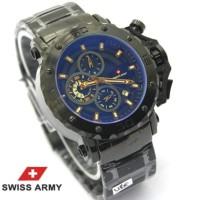 New Product Jam Tangan Pria Swiss Army Rantai Chrono Aktif