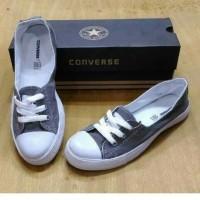Sepatu Sneaker wanita termurah converse 3hole mono 36-40 - Navy, 38