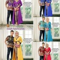 Baju Batik Couple Kebaya Batik Set Rok panjang Hem Kemeja