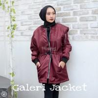 Hijacket Bomber Original HJ-BMB ALBATROS Jacket Wanita Muslimah Hijab