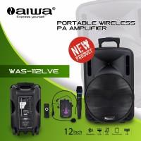 SPEAKER PORTABLE WIRELESS MEETING AIWA 112LVE (12IN USB,BLUETOOTH )