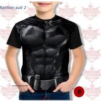 kaos anak berkualitas - super hero suit- batman suit 2