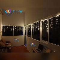 Lampu Tumblr Tirai / Lampu Hias LED Bentuk Tirai