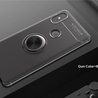 Case Autofocus Invisible Iring Xiaomi Redmi Note 6 Pro Soft Case - Hitam
