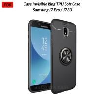 Case Autofocus Invisible Iring Samsung J7 Pro / J730 TPU Soft Case