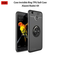 Case Autofocus Invisible Iring Xiaomi Redmi 4X 4X Soft Case