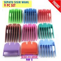 satu set Wahl sisir clipper alat cukur rambut 9 pc dalam 1 set