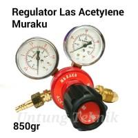 MURAKU Regulator Las Gas Acetylene - Heavy duty