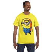 Fantasia T-Shirt Pria Minion Carl - Kuning