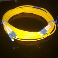 Kabel Patchcord/Patch Cord Fiber Optic LC-LC Duplex 5m