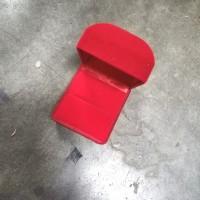 Tempat Cincin Perhiasan Kotak Polos Merah Anting Bagus Murah 1 pcs