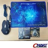 Dragonwar G12 Reload Professional 3200dpi Gaming Mouse Mousepad