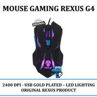 Mouse Gaming Rexus G4 - Macro