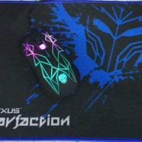 Mouse Gaming Rexus GT3 Free Gaming Mousepad Rexus / GT 3 LED COLOR