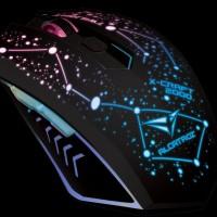 Mouse Macro XCRAFT 2000 Pro TWILIGHT With MOUSEPAD
