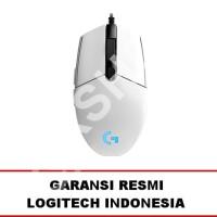 Logitech G102 Prodigy Gaming Mouse ( White ) - GARANSI RESMI